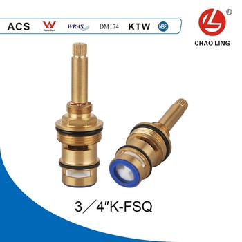 34 quick open shower diverter valve cartridge with long brass lever