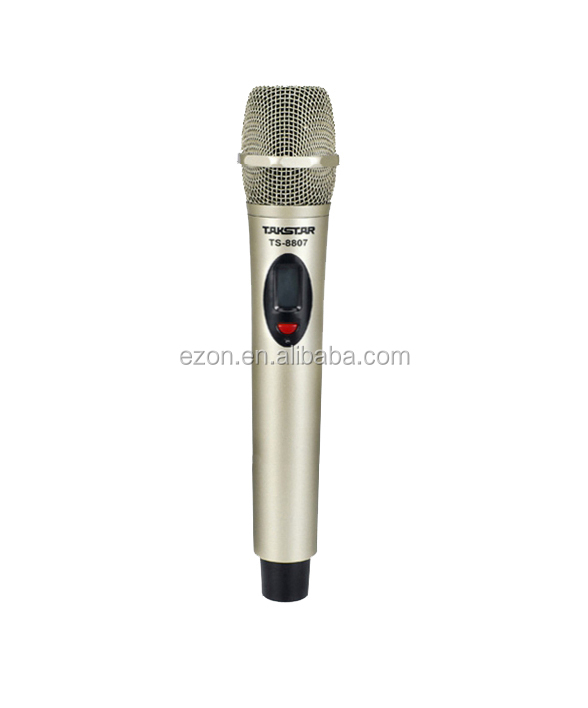 High quality Dual channel UHF wireless microphone ,Professional KTV Wireless Microphone,Outdoor DPLL wireless singing microphone