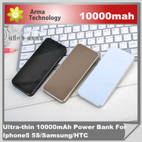 Universal Mobile Power Bank 10000mAh External Emergency Battery Pack