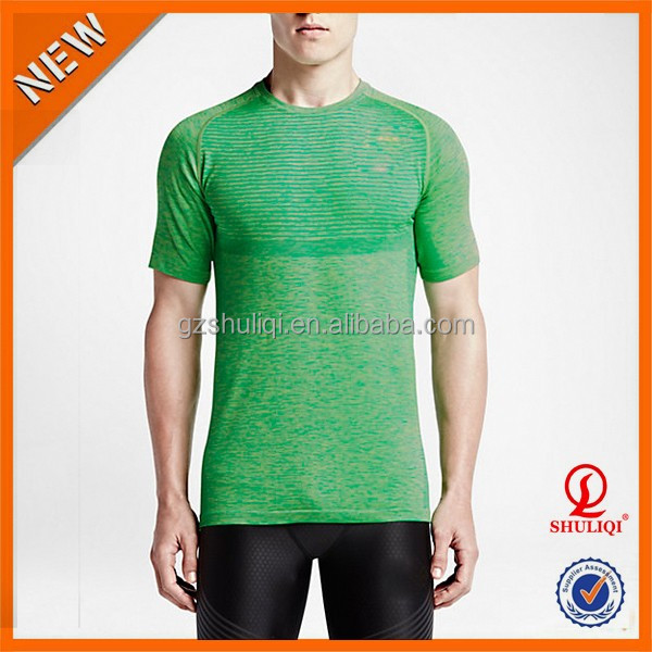 China Customized Long Line Men T Shirt Wholesale/Eco-Friendly Popular Style Breathable Fitness Men T Shirt