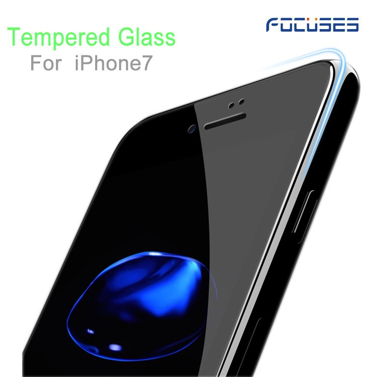 Shenzhen mobile tempered glass 3d curved for iphone 7 8 tempered glass screen protector for iphone wholesale price