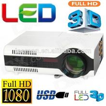 3d mini portable projector led projector 3d 3d home theatre projector