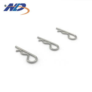 R clips stainless steel hinge spring R Type Cotter Pins
