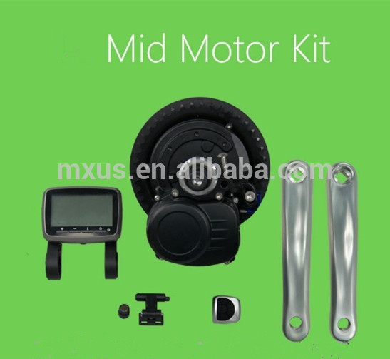 8fun/bafang central mid drive motor bbs01 36v 250w conversion kit