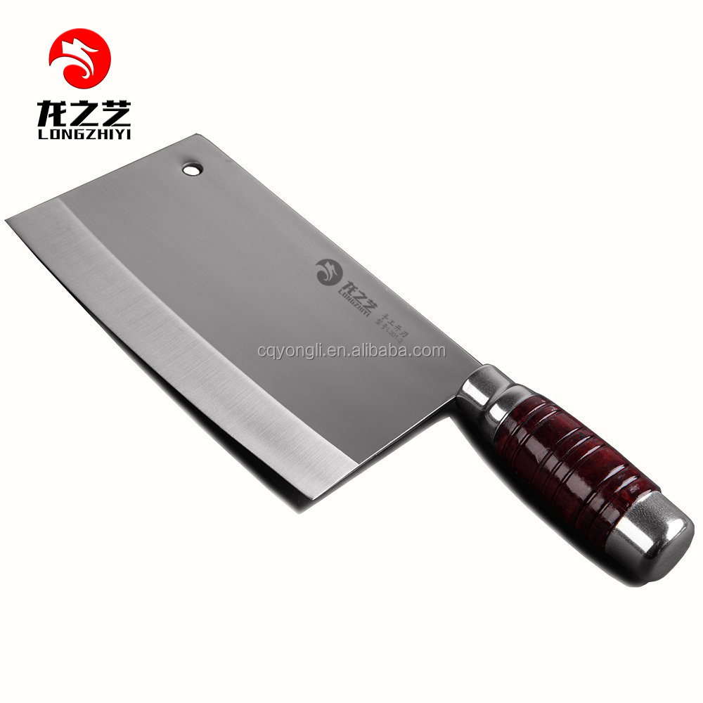 7 Blade Kitchen Knife Chef S Meat Cleaver Butcher Knife Vegetable Cutter With Wood Handle Buy Forged Stainless Kitchen Knife Cooking 4cr13 Steel