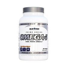 Blauwe Ster Nutraceuticals <span class=keywords><strong>Omega</strong></span> 3/Farmaceutische Grade <span class=keywords><strong>Omega</strong></span>-3 Oliën-90 Softgels