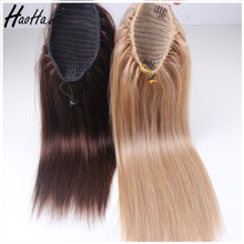 Manufacture Supply Fast Delivery Brazilian yaki human hair ponytail