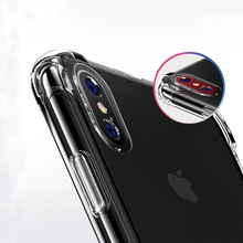 1,5mm Air shock fall, Hohe qualität tpu handy fall, klar transparent kristall tpu hard cover telefon fall für iPhone X XS 11
