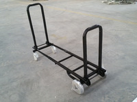 4 wheel Fire Wood Cart /Log Cart