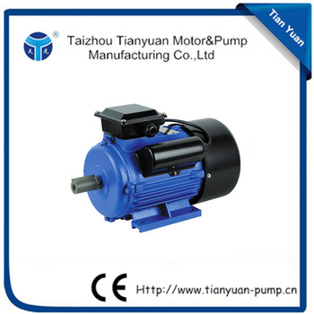 High Performance Single Phase Yc Electric Motor 5hp 220v