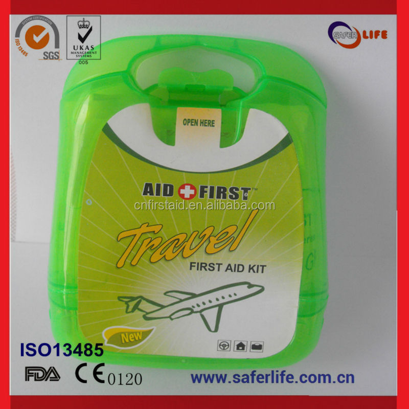 Saferlife Hot Sales Mini baby First Aid Kit for 0-1 Ages emergency kit medical kit for home care FA110