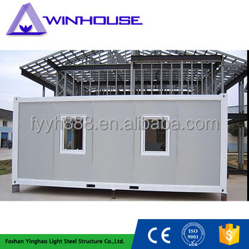 Prefabricated house dome pre-made container house low cost container house in thailand