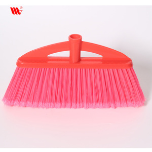 China supplier X503 sturdy bristle plastic PET broom head