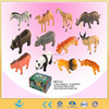 Plastic animal set toy wild animal toy child toy