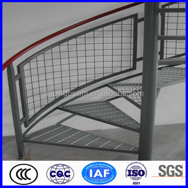 high quality stainless steel spiral stair tread