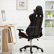 Antique adjustable office furniture ergonomic racing gaming chair for speaker