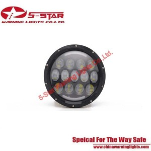 7 Inches 75W LED Light Head For Jeep,SUV 4X4 Car