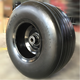 un-puncture solid pu rubber wheel 18x8.50-8