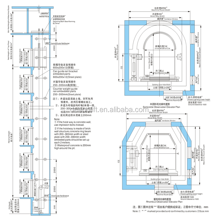 chine fabricant verre ascenseur petit ascenseur. Black Bedroom Furniture Sets. Home Design Ideas