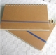 Office Supply Custom Logo Kraft Paper Cardboard Cover A5 Spiral Notebook With Elastic Band
