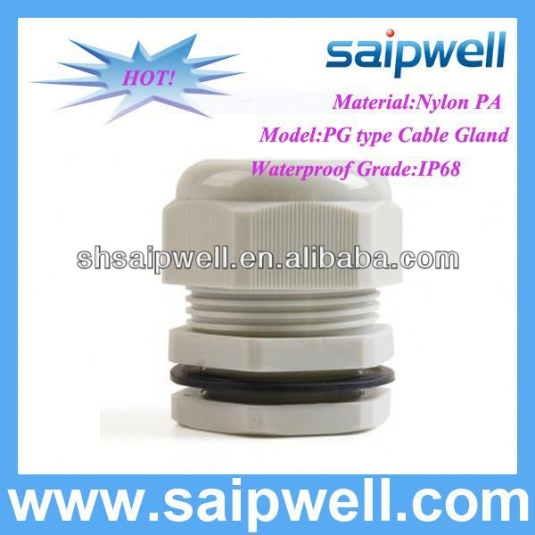 2014 HOT IP68 PG7 CABLE GLAND WITH CE