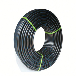 Excellent quality 50mm 63mm 90 mm Blue Line Poly Pipe price list of hdpe roll pipe