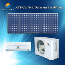 Hot selling new design hybride ACDC 90% thuisgebruik 9000btu 12000btu <span class=keywords><strong>airconditioning</strong></span> prijs zonne-energie