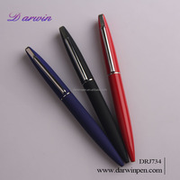 promotional metal pen clips,good design metal ballpoint pen with customized logo pen metal