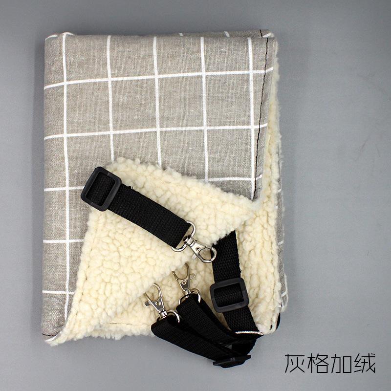 RoblionPet doppelseitige verfügbar Luft durchlässig eisen käfig katze hängematte Hängen katze hängematte