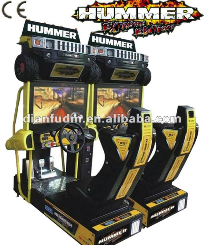 32 polegada arcade voiture d 39 attractions conduite jeux de simulation hummer extreme edition. Black Bedroom Furniture Sets. Home Design Ideas