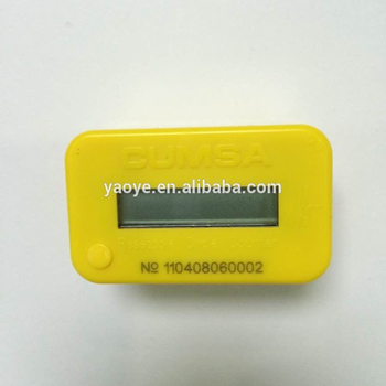 Professional Digital Punch Counter, YAOYE 7 Digits Mold Cycle Counter for Plastic Injection Mold