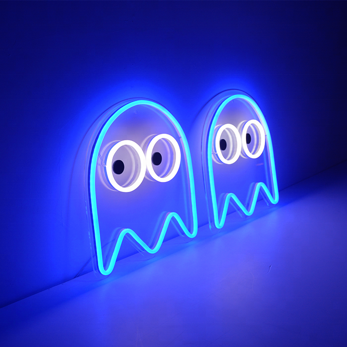 Pac Man Neon Sign Led For Room