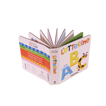 Good quality children board book printing english cardboard book printing for children