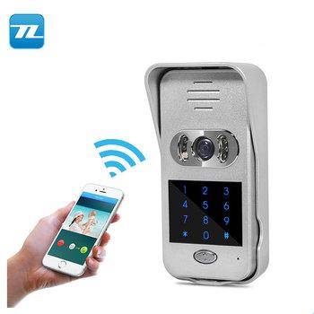 Password Unlock Smart Doorbell Wifi Doorbell With Rain Cover Kocom Video  Door Phone Tl-wf02 - Buy Smart Doorbell Wifi,Doorbell With Rain Cover,Kocom