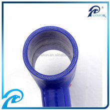 China High Performance Silicone Reinforced Fabric T Sharp Rubber Tube