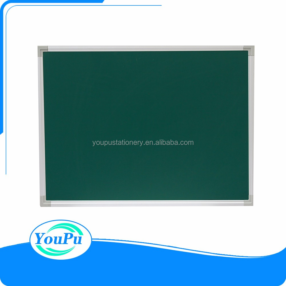 High quality School white board any sizes magnetic green board bulletin board