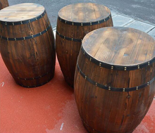 customized charring OAK wooden barrel