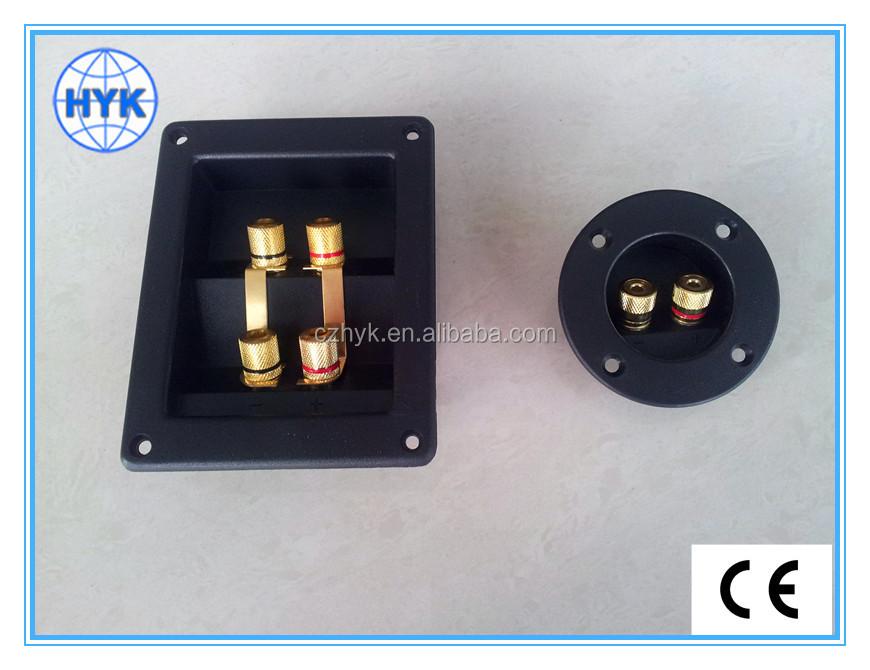 Speaker Box Terminal/plate/board/panel Mount Speaker Terminal ...