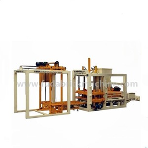 QT4-18 full auto hydraform full auto block making machine sand color paver brick machine in fuda