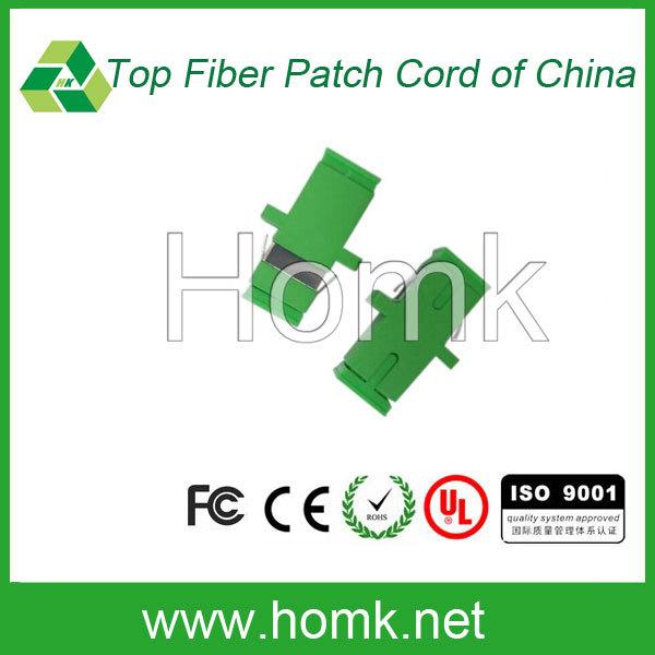 SC APC Green Big D SM MM Optical Fiber Adapter/ Fiber Optic Adapter /Fiber Optic Coupler
