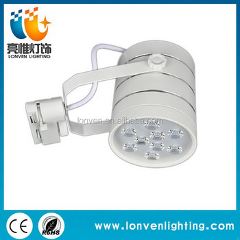 Top Level New Arrival Dimmable 12 Volt Led Track Lighting