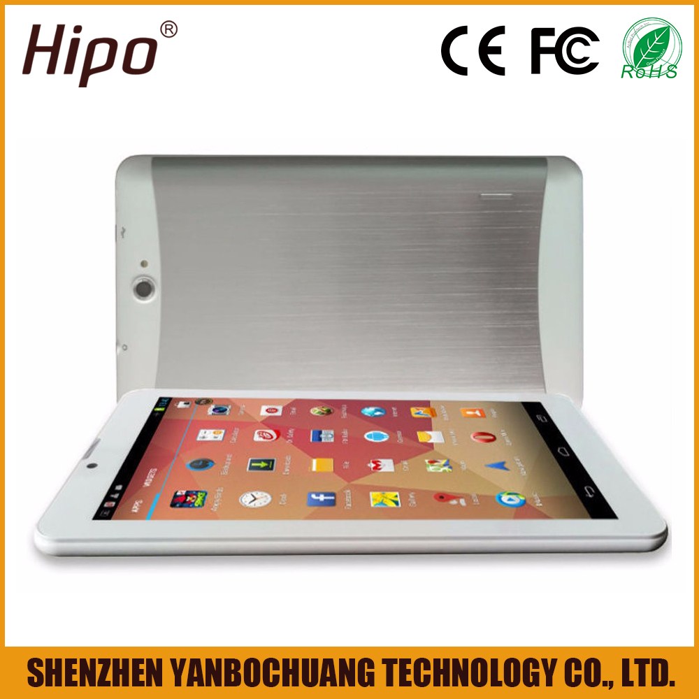 White box 7 inch tablet pc with sim card from custom tablet manufacture