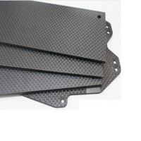 CNC round carbon fiber sheet used as carbon plate Cup mat