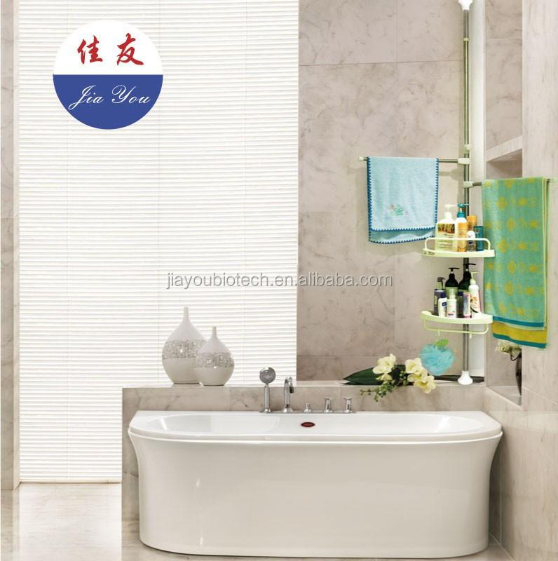 Jyxf estanteria shampoo ba o esquina de la pared estante for Estanteria bano toallas