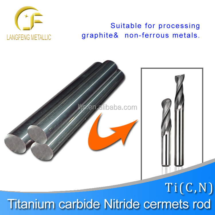 TiC cermet rods.used for welding on the crushuer hammer head,titanium carbide cermet rods(improve the service life of equipment)