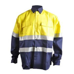 100% cotton Frecotex hv flame retardant work shirt