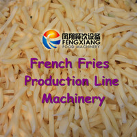 QX-3000 Potato French Fries Making Machine, Production Line, wash peel selection cut blanch cool dry pack!!!..............Nice!