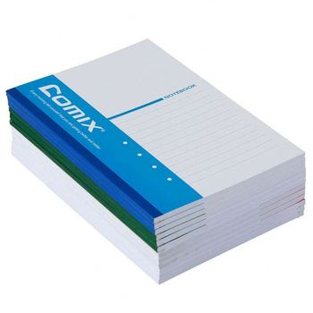 lined 120 pages promotional blank notebook