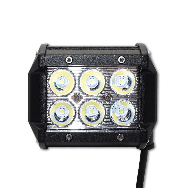 Hot Sale Wholesale led work light 27W square 2700lms high power flood led work lamp for trucks/ATV/UTV/offroad