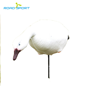 Collapsible snow goose decoy wild hunting snow geese